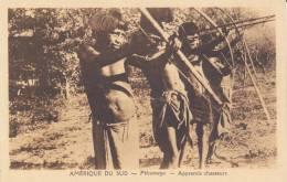 CPA AMERIQUE DU SUD INDIENS PILCOMAYO APPRENTIS CHASSEURS ARAGUAY ? - Ansichtskarten