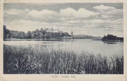 ## Germany PPC Plön Grosser See Verlag H. Söhrnsen PLÖN 1921 To SONDERBURG Alsen Denmark (2 Scans) - Ploen