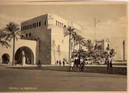 CPA AFRICA - LIBIA - TRIPOLI - IL CASTELLO - 1940 - Libya