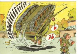 HUMOUR - MAZEL - Armée - Tank - Humor