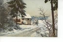 A Identifier Maison En Hiver - Cartes Postales