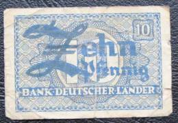 10 Pfennig Aallemagne - [ 7] 1949-… : FRG - Fed. Rep. Of Germany
