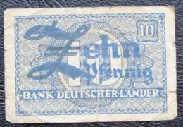 10 Pfennig Aallemagne - [ 7] 1949-… : RFD - Rep. Fed. Duitsland