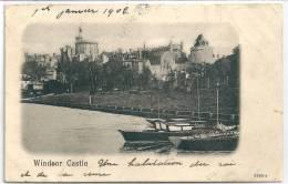 Cpa Windsor Castle  / Précurseur 1902. - Windsor Castle