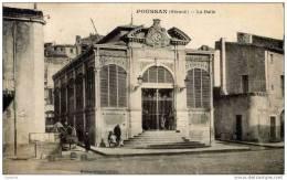 34- POUSSAN-La Halle-animée - Zonder Classificatie