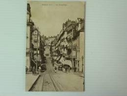 41 BLOIS RUE DENIS PAPIN  VOYAGEE 1933 - Blois