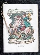 Petit Livret  Winterhilswerk Des Deutschen Volkes  Heft 1 - 5. Guerres Mondiales
