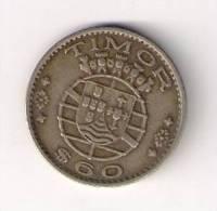 Timor 60 Centavos 1958. KM#12 - Timor