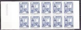 Schweden Suede Sweden 1965 Carnet Testbooklet Provhäfte 10 Cathedral Blue Without Value MNH - Carnets