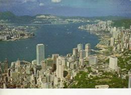 A BIRTH´S EYE OF VICTORIA HARBOUR  HONG KONG   OHL - China (Hongkong)