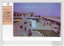 AEROPORT  DE  PARIS -  ORLY  - Les Terrasses Du Nouvel Aéroport  + 1 Ticket D´accès Aux Jetées Et Aux Terrasses.. - Otros