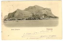 ITALIA PALERMO Monte Pellegrino - Palermo