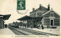 Conflans Sainte Honorine - Intérieur De La Gare - Conflans Saint Honorine
