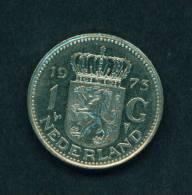 NETHERLANDS  -  1973  1 Guilder  Circulated As Scan - [ 3] 1815-… : Reino De Países Bajos