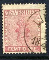 SWEDEN 1858 50 öre Pale Rose, Fine Used..    Michel 12a - Sweden