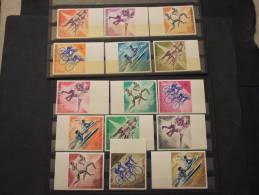 GUINEE - 1963 SPORT 15 Valori ND - NUOVI(++)-TEMATICHE - Guinea (1958-...)