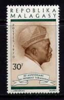 MADAGASCAR - N° 481* - 60è ANNIVERSAIRE DU PRESIDENT TSIRANANA - Madagascar (1960-...)
