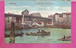 HAMBURG   -   ** HOCHBAHN AM BAUMWALL **    -   Verlag : W.F. Aus HAMBURG   N°/ - Altona