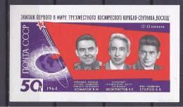 RUSSIA1964: SPACE Michel Block37mnh** - Russia & USSR