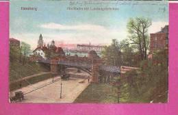 HAMBURG   -   ** HOCHBAHN MIT LANDUNGSBRÜCKEN **    -   Verlag : W.F. Aus HAMBURG   N°/ - Altona