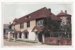 Etats Unis   ST AUGUSTINE   Oldest House In America - St Augustine