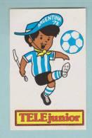 TELE JUNIOR FOOTBALL ARGENTINA 78 - AUTOCOLLANT (1500) - Autocollants