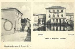 """PORTUGAL - TOMAR - FABRICA DE MOAGENS """"A NABANTINA"""" - 1905 PC - Santarem"""