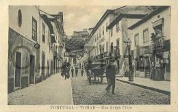 PORTUGAL - TOMAR - RUA SERPA PINTO - 1910 PC - Santarem