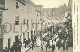 PORTUGAL - TOMAR - FESTA DO ESPIRITO SANTO - PROCISSÃO DOS TABULEIROS - 1905 PC - Santarem