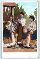 POSTCARD NATIONAL COSTUMES FRANCE SWISS ? DER 4311 - To Identify