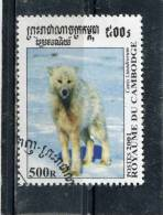 CAMBODIA. 2001. SCOTT 2144. CANIS LUPUS TUNDRORUM - Kambodscha