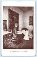 POSTCARD DE VERWACTING L'ATTENTE DE GROOTE  FAMILIE GROTE - Postcards