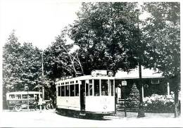 Autobus Schiedam - Rotterdam, Tram, Strassenbahn Lijn 8 RETM, Schiedam (?), 1926, Reproductie - Automobili