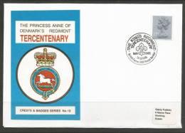 Great Britain. 1985 Event Cover, The Princess Ann Of Denmark´s Regiment Tercentenary - 1952-.... (Elizabeth II)