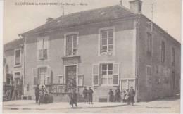 CPA   HARREVILLE-LES'CHANTEURS   -   Mairie   (animée) - Unclassified
