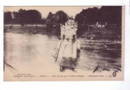 60 VERBERIE Pont Detruit Par Le Genie Francais  Guerre 14 - Senlis