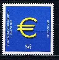 Bund 2002, Michel # 2234 ** Euro-Marke - BRD