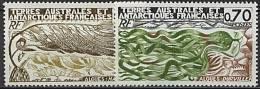 TAAF, N° 068 à N° 069** Y Et T, Algues, 68 / 69 - Nuovi