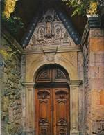 Rennes Le Château, La Porte De L'église, Combier Imprimeur Macon - Other Municipalities
