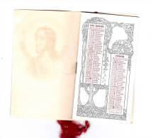 PETIT CALENDRIER 1930 ART DECO  SUPERBE  ! ! ! - Petit Format : 1921-40