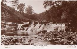 POSTCARD CATRAKE FALLS KELO KLD 36 LILYWHITE DALES YORKSHIRE - England