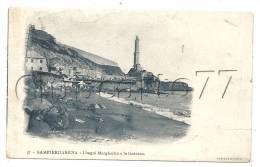 Gêne Ou Genova (Italie, Liguria) : I Bagni Margherita E La Lanterna En 1905 (animée). - Genova