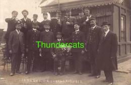 CARTE DE PHOTO A IDENTIFIER **  FOTOKAART TE IDENTIFICEREN ** LEVE DE JUBILARIS 1887 1912 - Mestieri