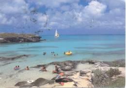 SPANISH POINT PARK AND BEACH BERMUDA CARTE CIRCULEE 1982 A BUENOS AIRES L'ARGENTINE RARE CIRCULATION - Bermudes