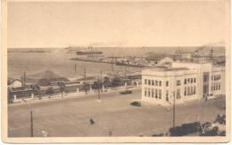 DAKAR UN COIN DU PORT DE COMMERCE CPA CIRCA 1930 DOS DIVISE UNCIRCLATED EDITION MAURICE VIALE - Senegal