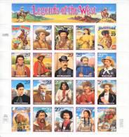 U.S. 2869    **  LEGENDS Of The WEST  Sheet - Sheets