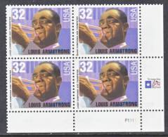 U.S.  2982  **  MUSIC  LOUIS  ARMSTRONG - United States