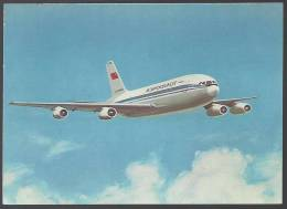 AM - CCCP - URSS - AEROFLOT - SOVIET AIRLINES - OFFICIAL OLYMPIC CARRIER - IL 86 - 1946-....: Moderne
