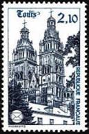 France N° 2370 ** Monument - Cathédrale De Tours - France