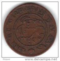 COINS  PAYS BAS  INDIA KM 306 1/2 Ct 1859.   (DP158) - Indes Néerlandaises
